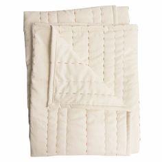 """Hey Baby Craft Co.: Lucille Unisex Wholecloth Baby Quilt, 40""""x54"""" #MarthaStewartAmericanMade"""