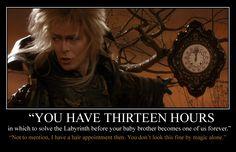 David Bowie as Jareth, the Goblin King David Bowie Labyrinth, Labyrinth Film, Jim Henson Labyrinth, Labyrinth Tattoo, Labyrinth Quotes, Labrynth, Goblin King, The Dark Crystal, Fantasy Movies