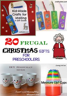 frugal gifts under 20 dollars for preschoolers - Christmas Gifts Under 20