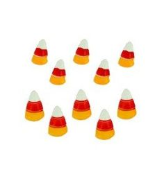 Buttons: Candy Corn - Dress It Up 2543