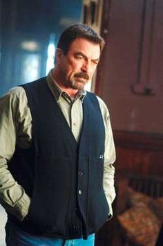 Tom Selleck...in his 70s and still looks good.