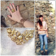 #bijoux #necklace #seaside #girl #fashionblog #fashionblogger #style #jewelry #rings #stones #cuffs #earrings #gold #inspiration #oots  #outfit THE FASHIONAMY by Amanda Fashion blog outfit, made in italy, felpe tshirt street wear : Fondali marini e atmosfere antiche: una collana dora...