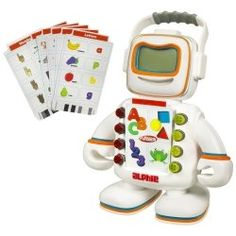 The electronic world comes to toddlers with Playskool's Alfie. This is a toy that was first introduced in the 80's, but now, Alfie is revamped...