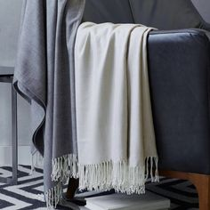 Concentric Diamonds Throw | west elm
