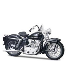 Miniatura Moto Harley-Davidson 1952 K Model Maisto 1:18 - Machine Cult   A loja das camisetas de carro e moto