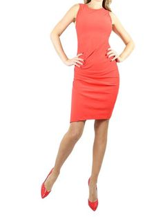 ON57 Red Sleeveless Dress. S, M, L  $295 http://www.boutiqueon57.com/products/on-57-new-york-red-sleeveless-dress-s-m-l