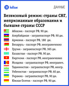 Безвизовый режим с Россией