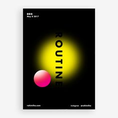 Day 005 By Nima Rahimiha One poster every day for one year! May 8 2017 @ellodesign @elloabstract @graphicdesign #poster