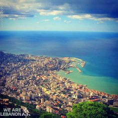 What do you think of this View for #Jounieh? شو رأيكن بهالمنظر من #جونيه؟ By Georges Hachem