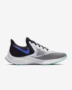 Nike Air Zoom Winflo 6 Women's Running Shoe. Nike.com Crossfit Challenge, Nike Running Shoes Women, Air Zoom, Blue Fashion, Fun Workouts, Snug Fit, Nike Free, Nike Air, Sneakers Nike