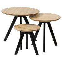 Dit leuke bijzettafeltje van de eigen collectie van Loods 5 is handig te gebruiken als extra tafeltje in huis