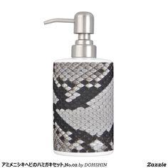 hamigakisetsuto of amimenishikihebi, No.02 Soap Dispensers