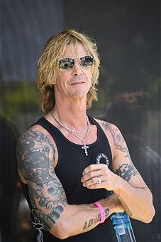 Musician, singer, songwriter and author Duff McKagan attends Paradise House Presented By Interview Hosted By Susan Holmes-McKagan on April 17, 2016 in Palm Springs, California.