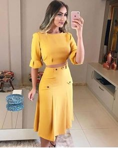 Image may contain: 1 person, standing Summer Outfits Women, Summer Dresses, Lace Dress, Dress Up, Cool Outfits, Casual Outfits, Corporate Wear, Dress Tutorials, Blouse And Skirt