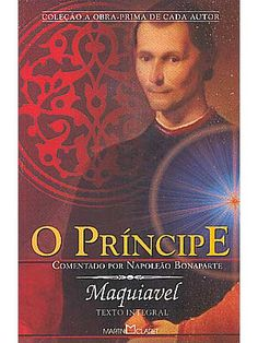another remarkable book from my social sciences college time. Maquiavel teaches us how not to do... : )
