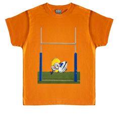 Camiseta infantil Minion Try #camisetas #rugby #minions http://www.latostadora.com/emcmasquecamisetas