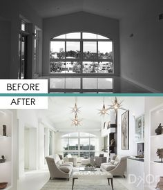 Waterfront Penthouse - Residential Interior Design Project in Fort Lauderdale, Florida #InteriorDesign #InteriorDesigners #Interiors #Decoration #Remodel #InteriorsDecoration #LivingRoom #FamilyRoom