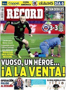 México - RÉCORD 16 de junio del 2016