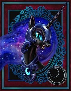 Nightmare Moon Portrait
