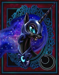 Nightmare Moon by harwicks-art on deviantART