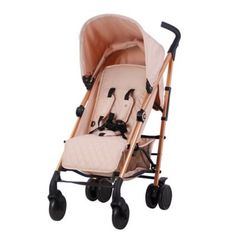 Buy My Babiie Rose Gold and Blush Baby Stroller – Lightweight Baby Stroller with Carry Handle – Rose Gold Frame and Pink Canopy – Lightweight Travel Stroller – Stylish Umbrella – Babies 6 Months – 33 lbs Rose Gold Stroller, My Babiie, Single Stroller, 3 Month Old Baby, Compact Umbrella, Umbrella Stroller, Travel Stroller, Cool Baby Stuff, Girl Stuff