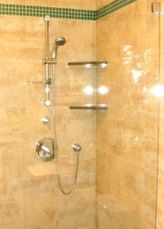 Porcelanosa Tiles & GROHE Shower Fixtures