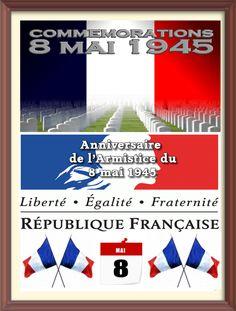 Print PDF  8 mai 1945 Le 8 mai 1945 est la date, dans le calendrier grégorien, de deux événements historiques : la victoire des Alliés sur l'Allemagne nazie et la fin de la Seconde Guerre mondiale en Europe marquée par l'annonce de la capitulation de...