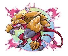 Mega Megistosand by ScionStorm on DeviantArt Mega Pokemon, Deviantart