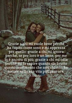 Aforismi - Buongiorno-Immagini.it Bff Quotes, Tumblr Quotes, Friendship Quotes, Italian Vocabulary, Italian Quotes, Sisters In Christ, Some Words, Positive Vibes, Love Of My Life