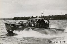 1954 RCMP Chilcoot Yacht Builders