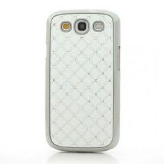 Galaxy S3 valkoiset luksus kuoret. Samsung Galaxy S3, Phone Cases, Phone Case