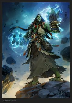 Laurel Austin ldaustin illustrations fantasy games Blizzard Diablo Starcraft World of Warcraft conceptual artist