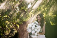 Venue: The Hall and Gardens at Landmark Photographer: Chris Nieto Hair: Wedding Hair by Liz Makeup: Different Wedding Dresses, Rental Wedding Dresses, Dress Rental, Curly Wedding Hair, Romantic Wedding Hair, Dj Video, Bride Makeup, Professional Hairstyles, Special Events