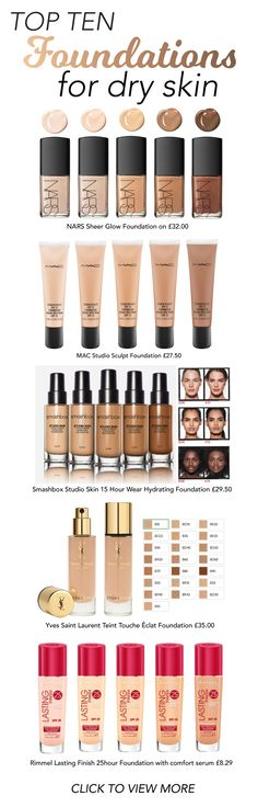 Struggling to find the right Foundation for your dry skin? Inject some vibrancy into your epidermis with these Top Foundations for Dry Skin.
