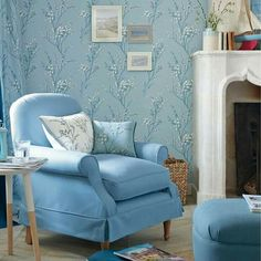 Pussy Willow wallpaper Laura Ashley