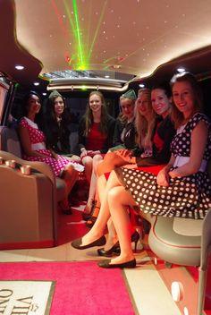 Party Tour in der riesigen VW T3 Limousine