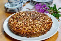 Oppned eplehonningkake – Berit Nordstrand No Bake Desserts, Grains, Rice, Baking, Vegetables, Sweet, Food, Alternative, Cakes