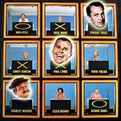 Hollywood Squares (1965–1981,1983–1984, 1986–1989, 1998–2004)