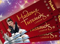 Visit Madame Tussauds™ London - remember to pre-book tickets