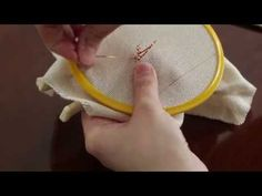 Basic Hand Embroidery Part - 27 Brazilian Embroidery, Wired Ribbon, Chain Stitch, Hand Embroidery, Blackwork, Diy And Crafts, Youtube, Angles, Community
