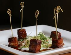 Belly Bites at Crop Kitchen. (Gus Chan / The Plain Dealer)