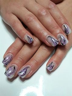 Nail Art Gallery - abstract