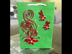 Quilling or paper filigree is an art form that involves the use of strips of…