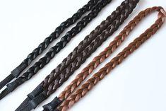 New 1PC Elastic Hairband Women Wig Braid Braided Hair Accessories Head Band Hair Weaving Ring Rope Dance Headwear Free Shipping
