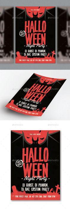 Halloween by RockGasm Halloween Party Flyer, Halloween Design, Halloween Halloween, Event Flyer Templates, Print Templates, Flyer Design, Dj, Spider Template, Ai Illustrator