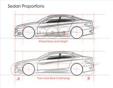 Sedan-Proportions