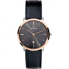 WatchO - Michel Herbelin Men's Ikone Grande Black Dial Leather Strap Watch 19515/TR22, £285.00 (https://www.watcho.co.uk/Watches/Michel-Herbelin/Michel-Herbelin-Mens-Ikone-Grand-Black-Dial-Leather-Strap-Watch-19515-TR22.html)