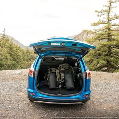 The kept their all-new packed and ready to go at all times while travelling through the San Gabriel Mountains. Toyota Celica, Toyota Supra, Toyota Rav4 Hybrid, San Gabriel Mountains, Grand Prairie, Toyota Land Cruiser, Savannah Chat, Travelling, Times