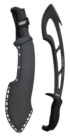 Acme United-Camillus Knives M-13 Titanium Machete with Sheath