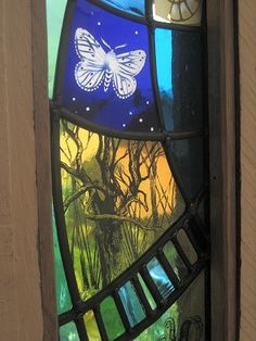Gorgeous stained glass from Tamsin Abbott